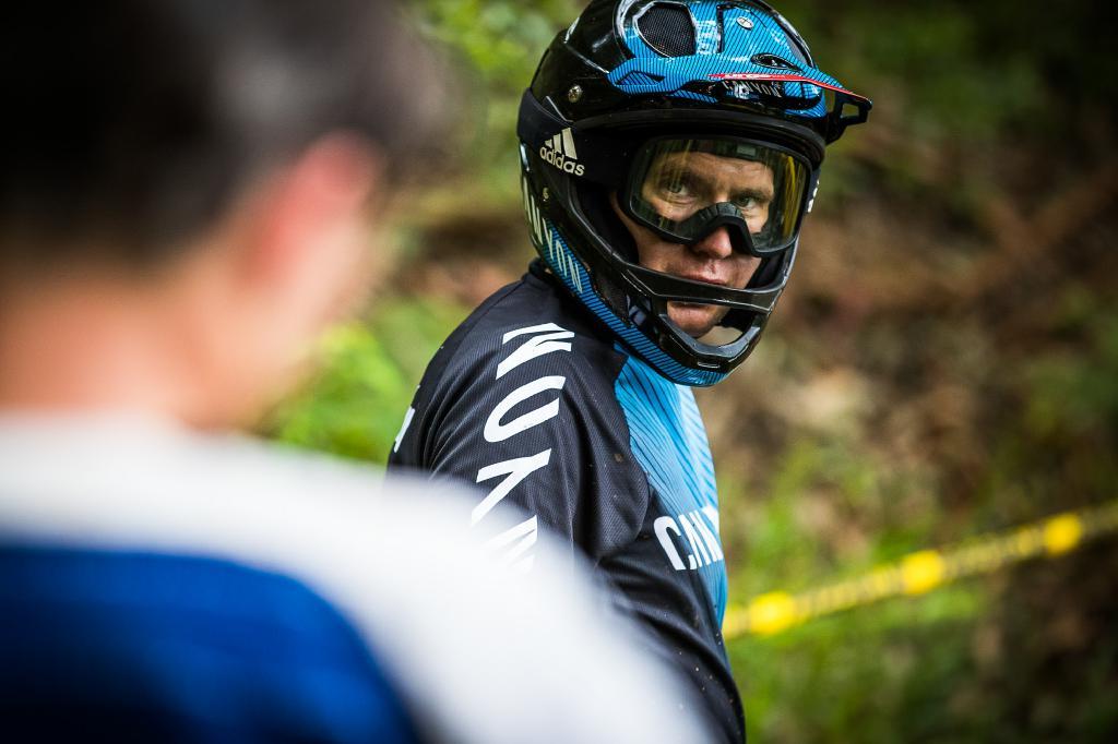 Ein erholter und fokussierter Justin Leov ging in Madeira voller Siegeseifer an den Start.