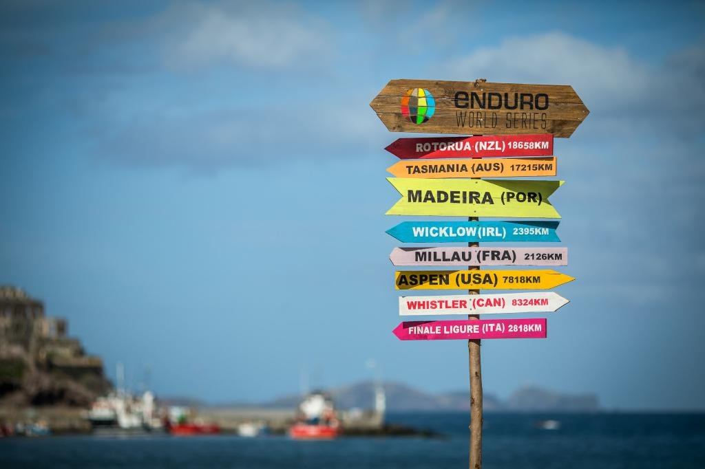Madeira war voll und ganz auf die Enduro World Series eingestellt.