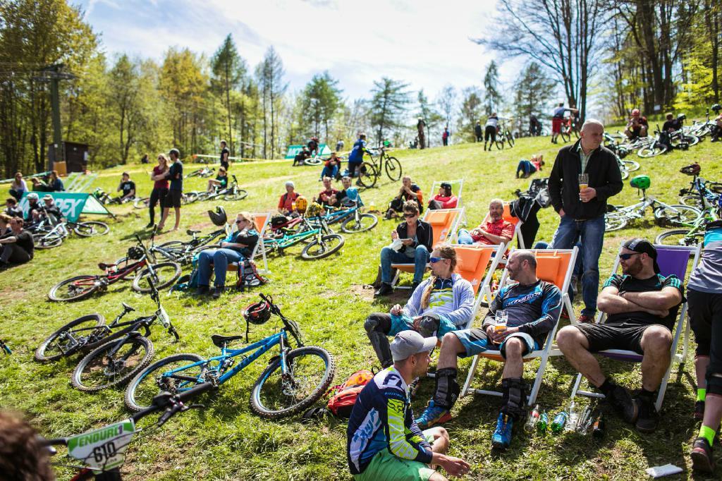 Zum Auftakt der Enduro One Saison 2017 kamen rund 600 Starter in den Spessart nach Frammersbach.