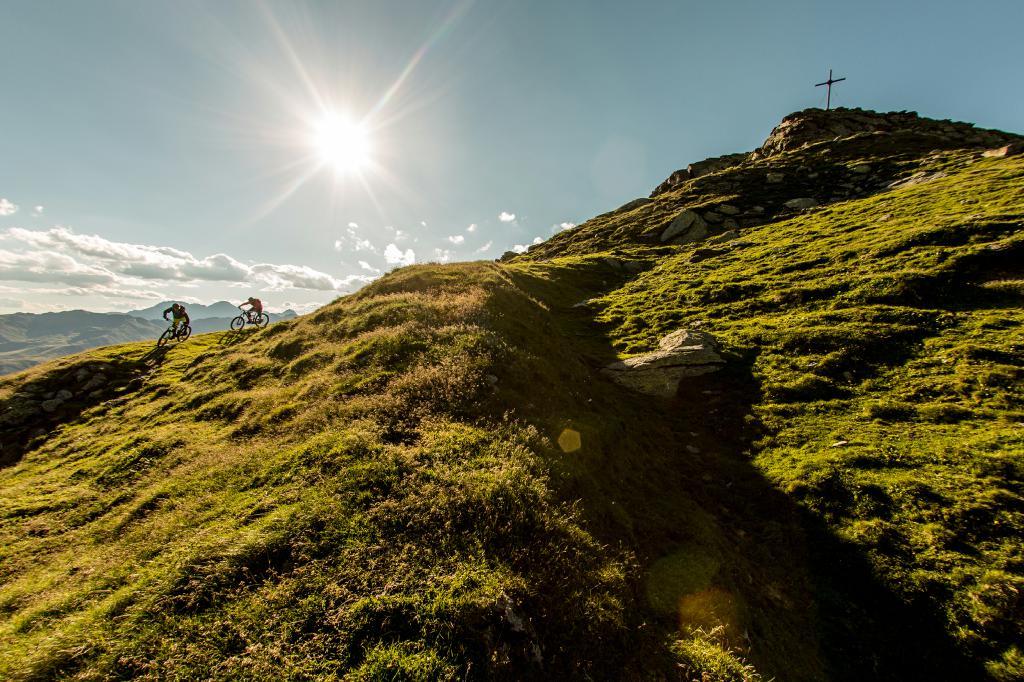 Enduro-Gipfelglück in Osttirol.