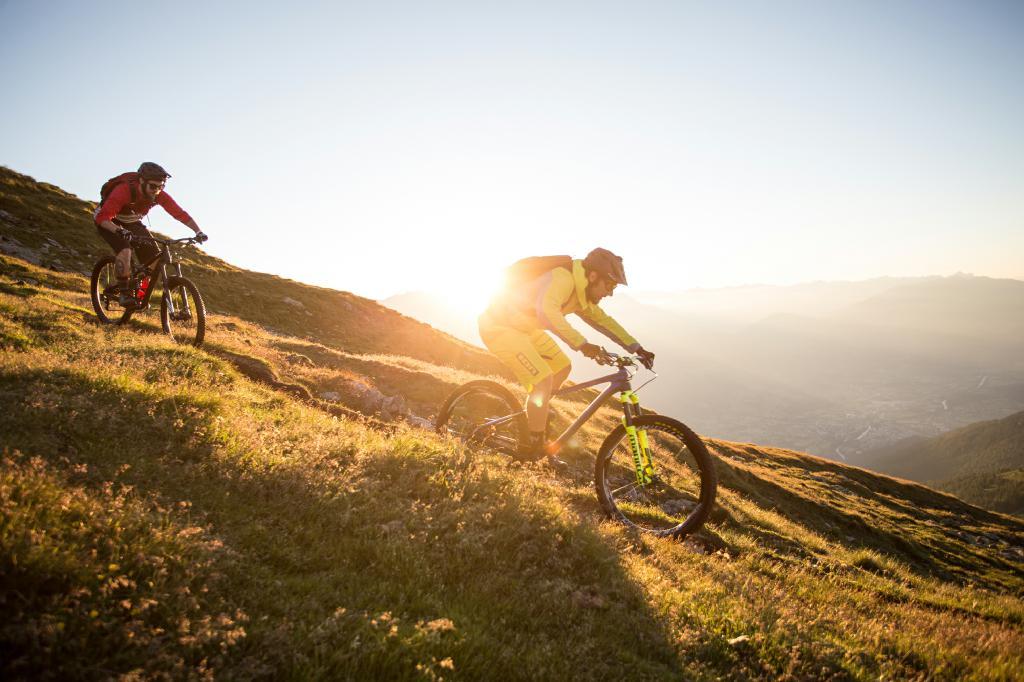 Die Zukunft für Enduro Mountainbiking in Osttirol sieht sonnig aus.