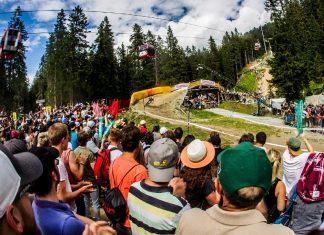 Die Strecke in Lenzerheide ist reich gespickt mit spannenden Sektionen, daher ist sie sowohl bei den Fahrern als auch bei den Fans sehr beliebt.