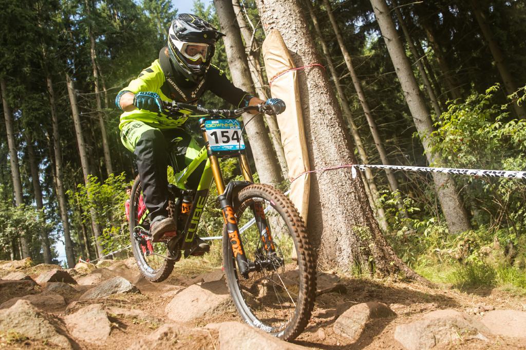 Max Hartenstern Downhill DM 2017 Ilmenau