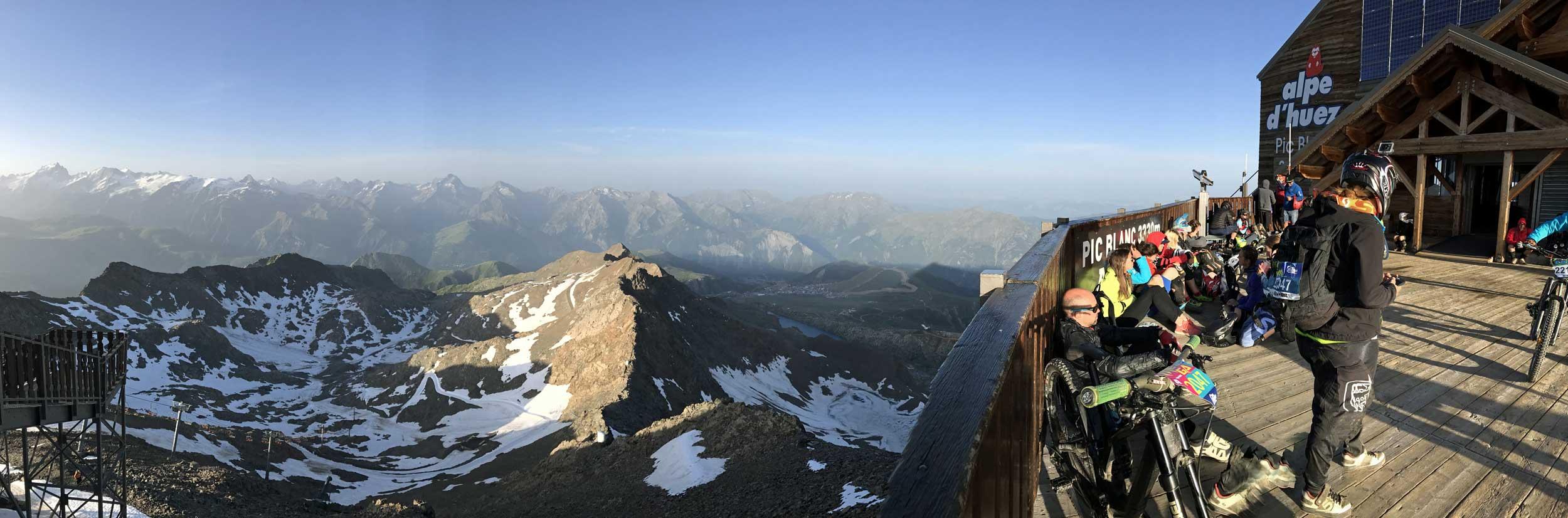 Megavalanche in Alpe d'Huez