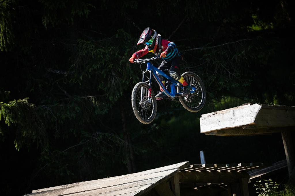 Propain Gravity Kids Teamfaherer Johann ist 9 Jahre und hat das Yuma 2018 bereits ausgiebig getestet.