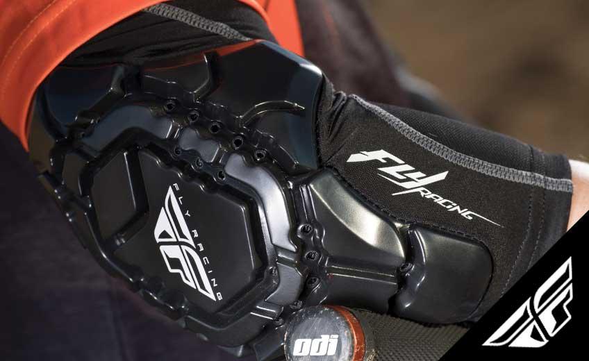 Mit zwei neuen Knieschonern und einem neuen Ellbogenschoner entert Fly das Protektorensegment im MTB-Bereich.