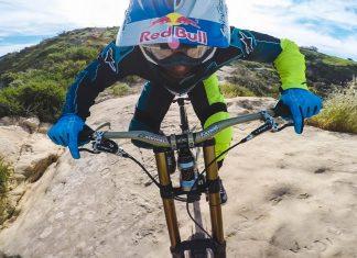 Aaron Gwinn rockt den Top Of The Worlds-Trail