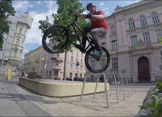 Fabian Dankl - Urban Street Trial in Salzburg