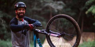 Timo Pritzel auf Marin Bikes