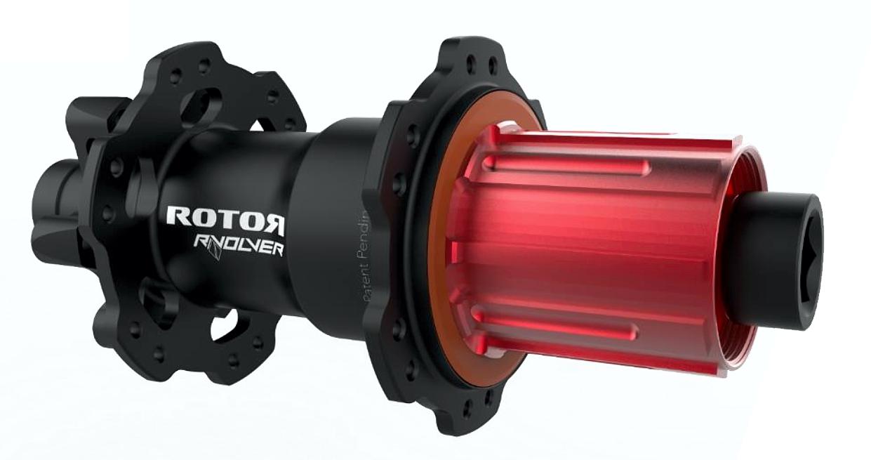 Rotor Rvolver Nabe