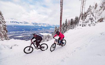 Winter Bike Spaß