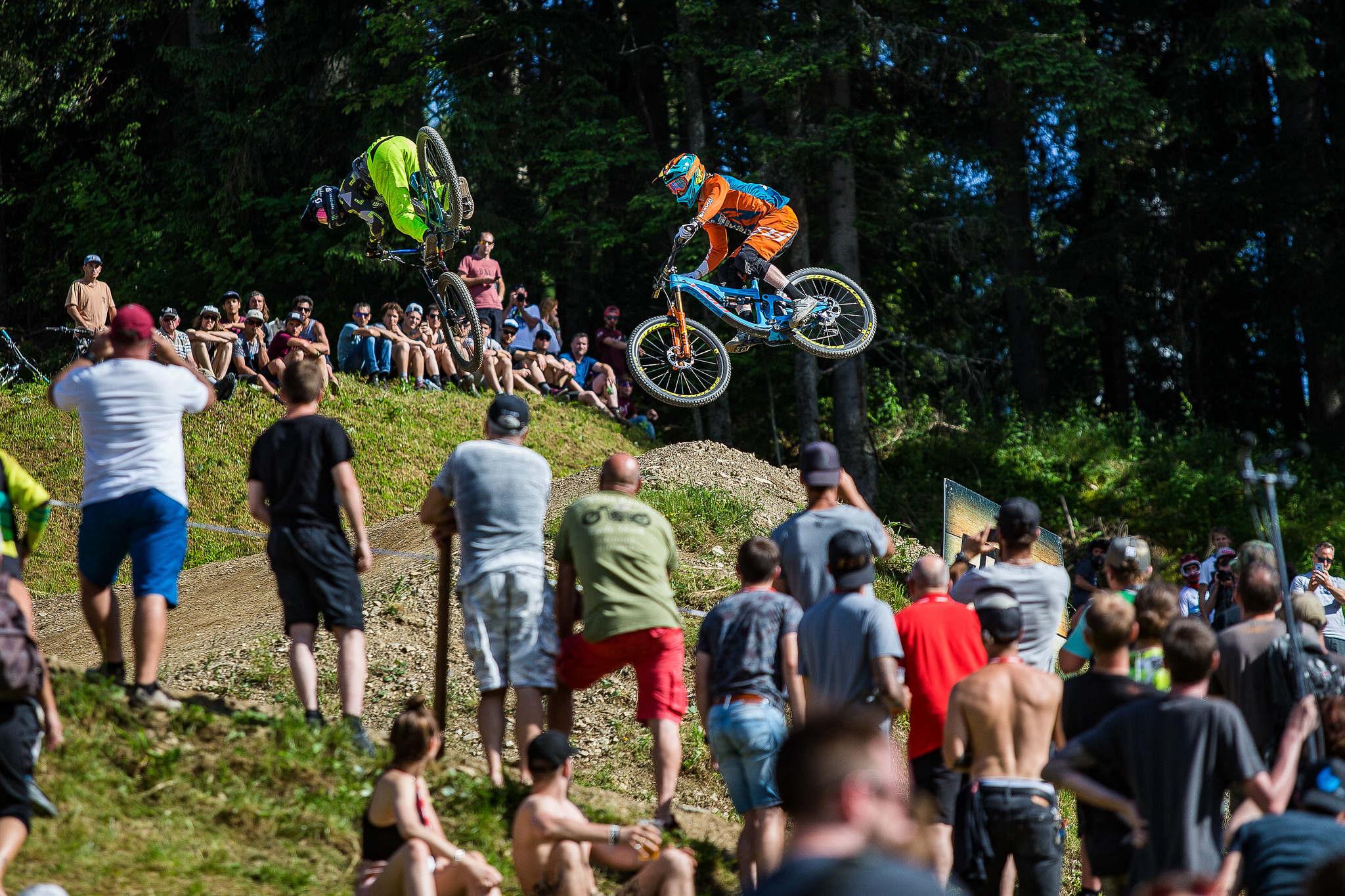 Crankworx in Innsbruck und Les Gets