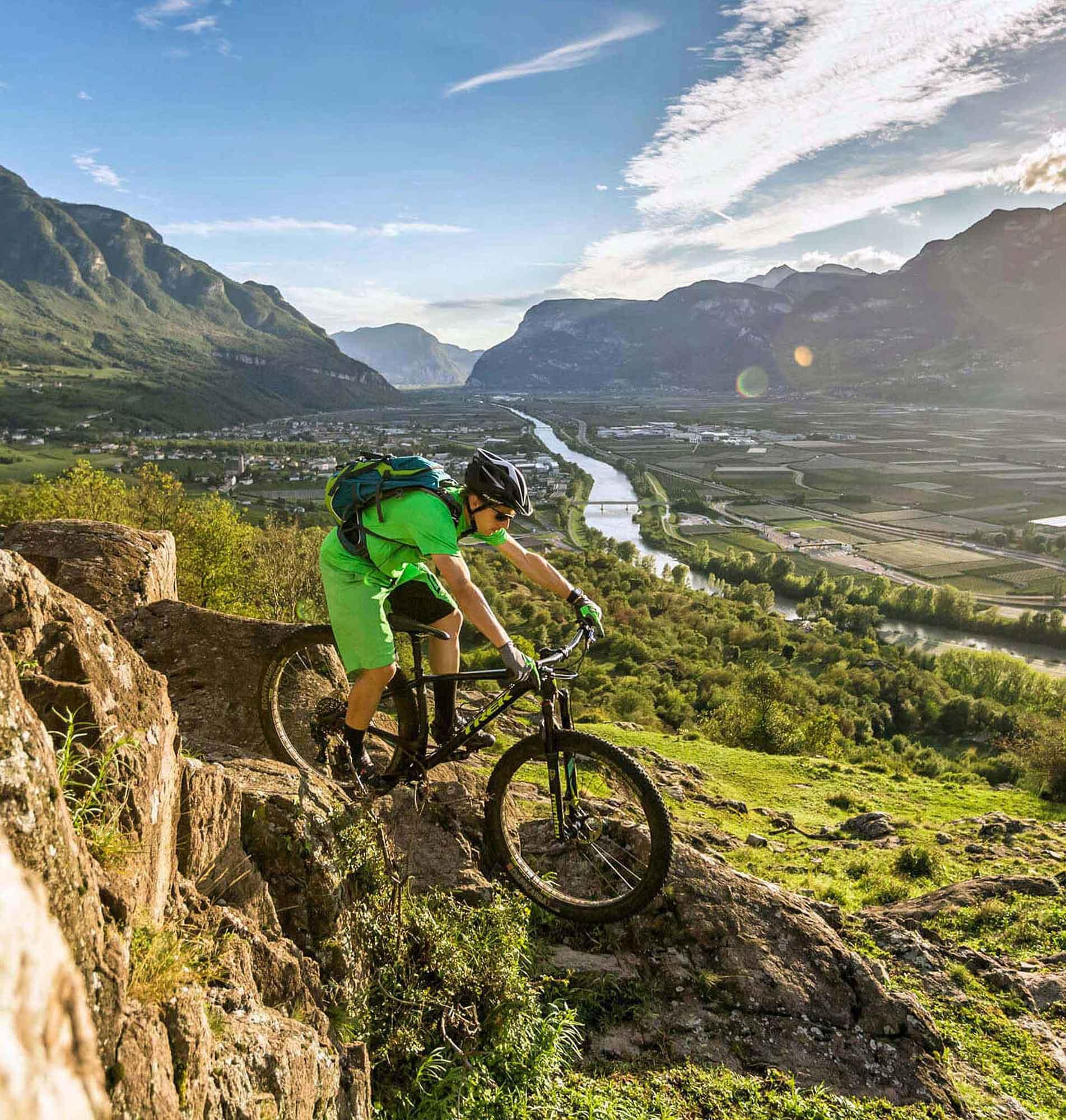 Mountain Bike Holidays Signature Trails - Monte-Roen-Trail