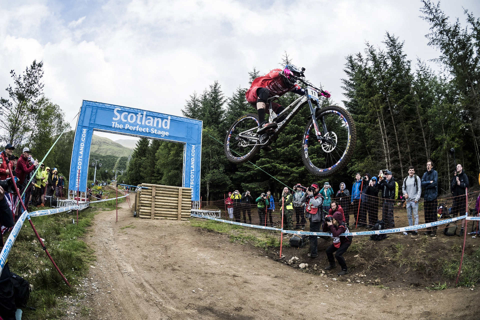 UCI Downhill World Cup in Fort William
