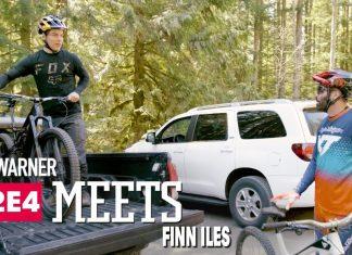 Rob Warner trifft Finn Iles