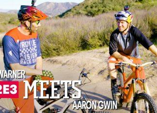 Rob Warner trifft Aaron Gwin