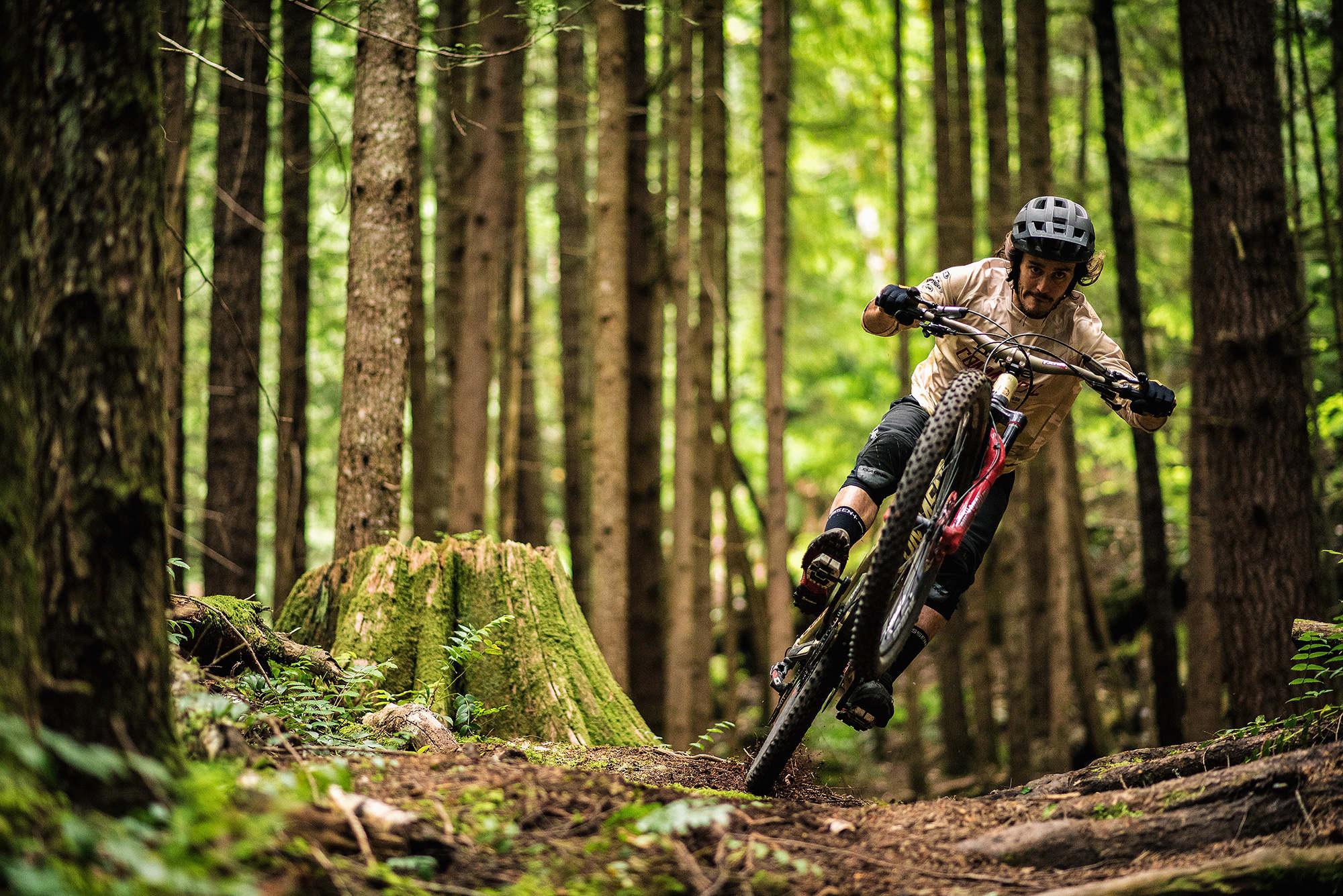 Yoann Barelli in Squamish