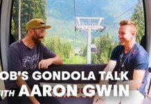 Rob Warner und Aaron Gwin