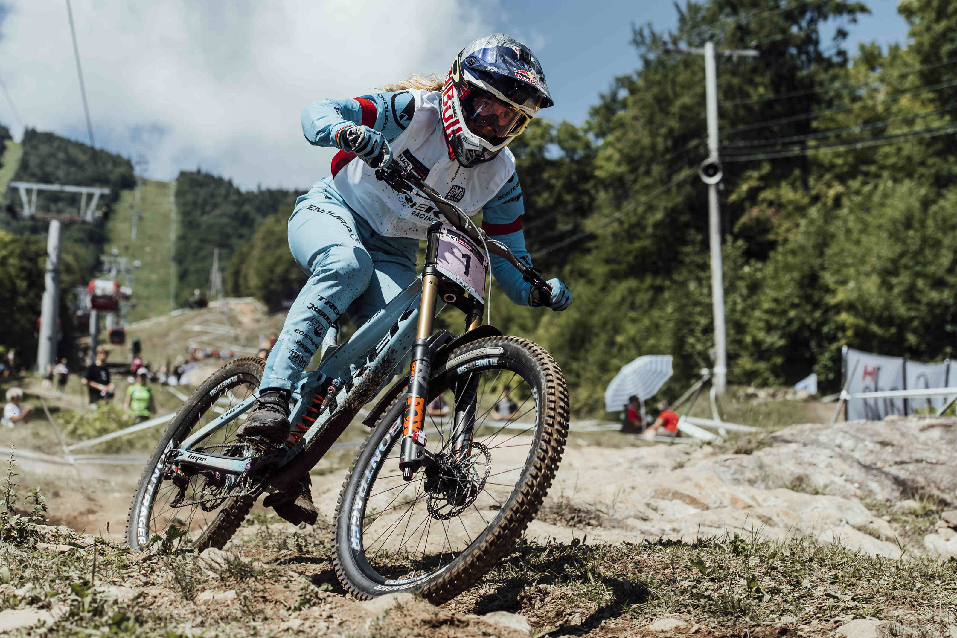 Downhill World Cup in Mont-Saint-Anne