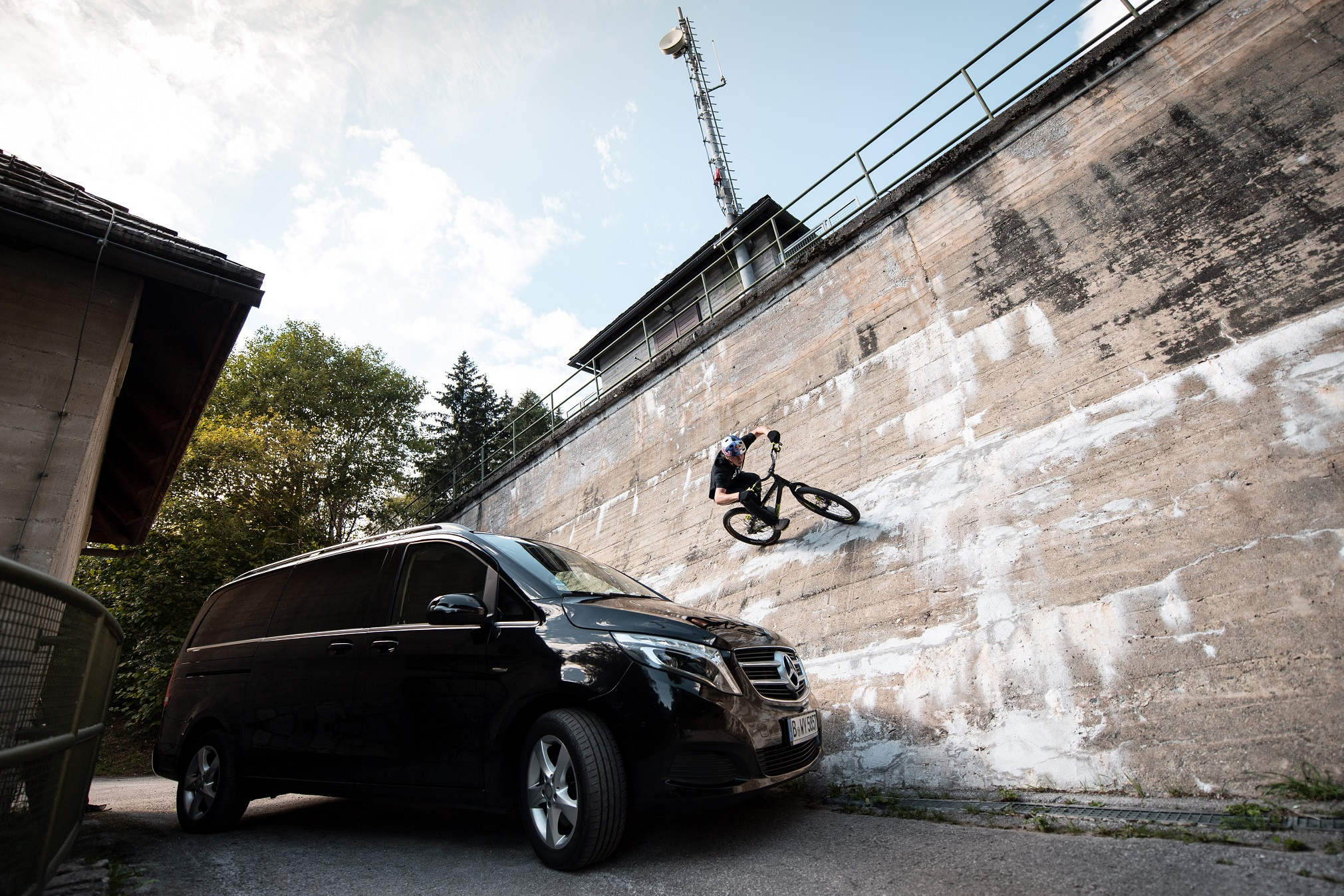 Fabio Wibmer und Mercedes-Benz