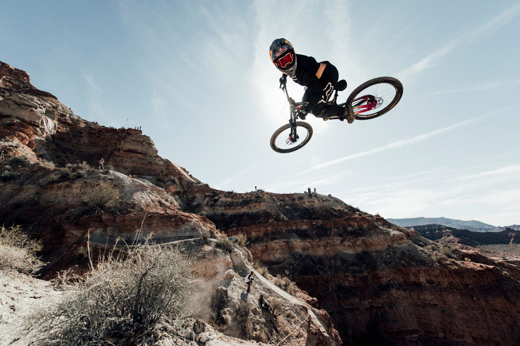 Trainingstag der Red Bull Rampage 2018