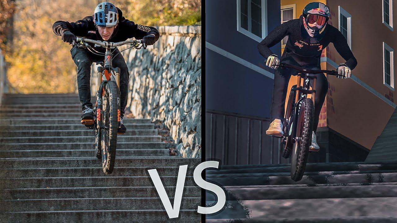 Sick Series Duell: Real Life vs Game | Prime Mountainbiking