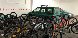 Gestohlene Bikes