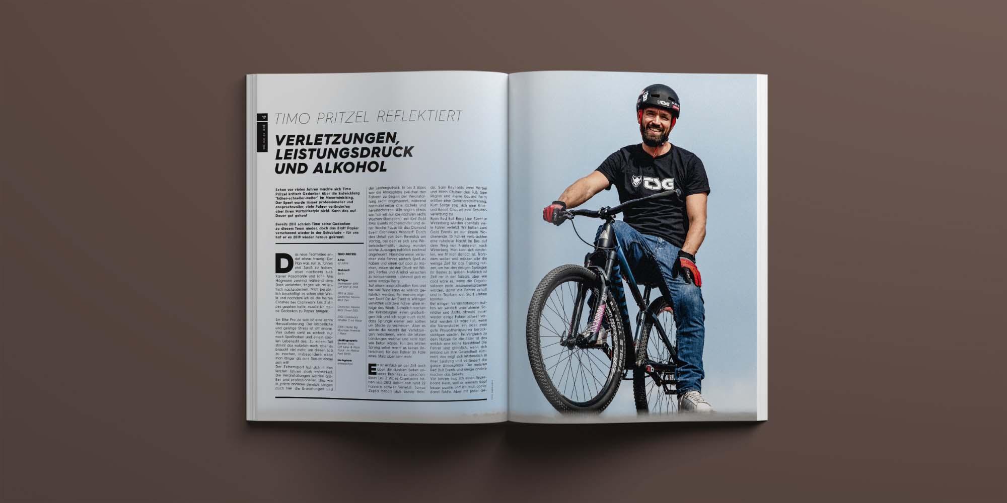 Prime Mountainbiking Magazin 17 April 2019