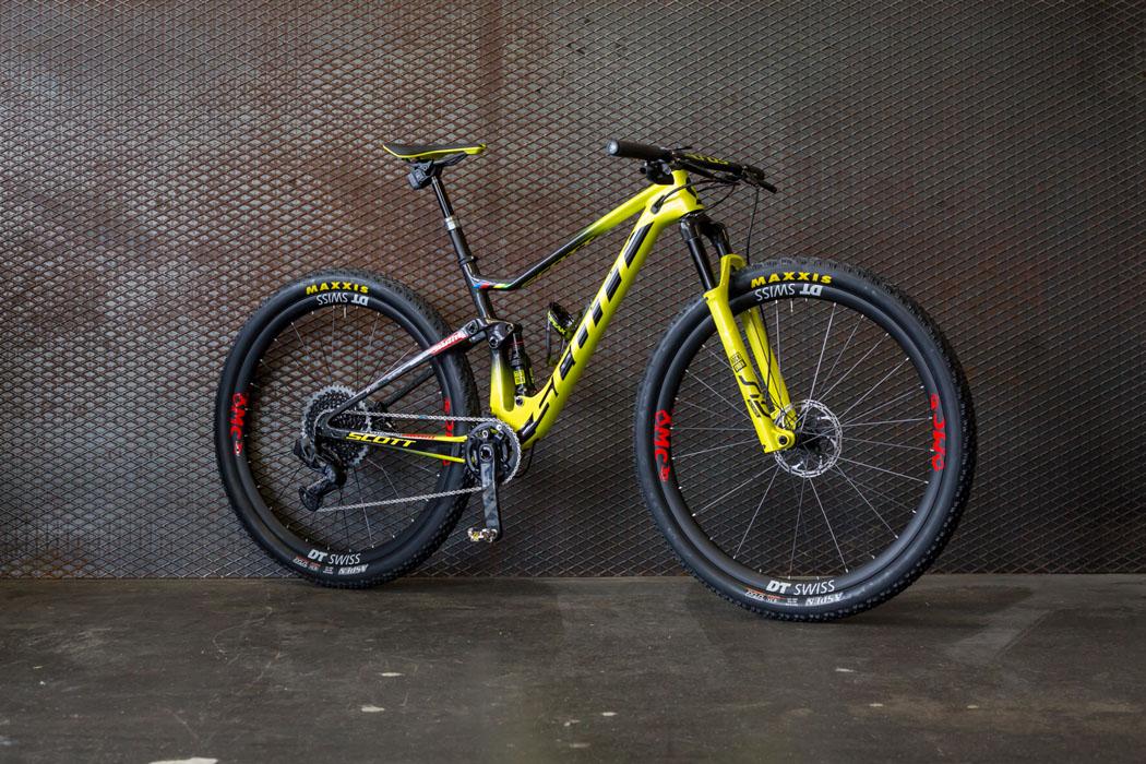 Nino Schurter Scott Spark Bike